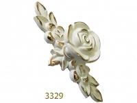 3329 trắng mạ vàng