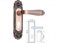 Khóa cửa phòng F7533AC